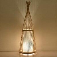 Vintage Table Lamp Bamboo Living Room Loft Table Light Reading Art Table Lamp Home Deco Study Loft Style Bearoom Lamp Desk Clamp