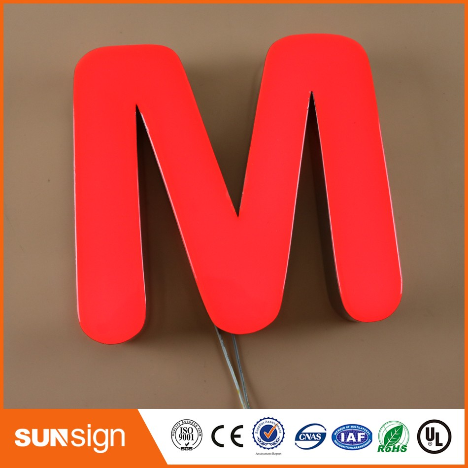 Wholesale Channel Letter Signs Trim Cap Sign
