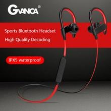 GVANCA YX23 Bluetooth Wireless Earphone Sport Earphones Headset with Microphone IPX-5 Waterproof