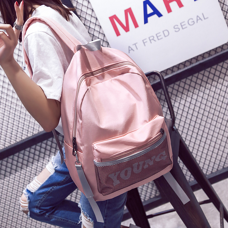 2017 Korean Kpop Backpack School Bags For Teenagers Men Travel Bags Women Backpacks Girls Waterproof Summer