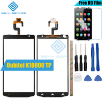 For Oukitel K10000 TP Touch Screen Panel Perfect Repair Parts Tools K10000 Glass With Digitizer Sensor