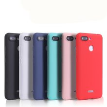 "Soft tpu case for Xiaomi Redmi 6A case silicone cover 5.45"" TPU case for Xiaomi redmi 6 coque funda on phone for Redmi 6 Pro(China)"