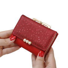 2020 Lady Short Women Wallets Crown Decorated Mini Money Pur