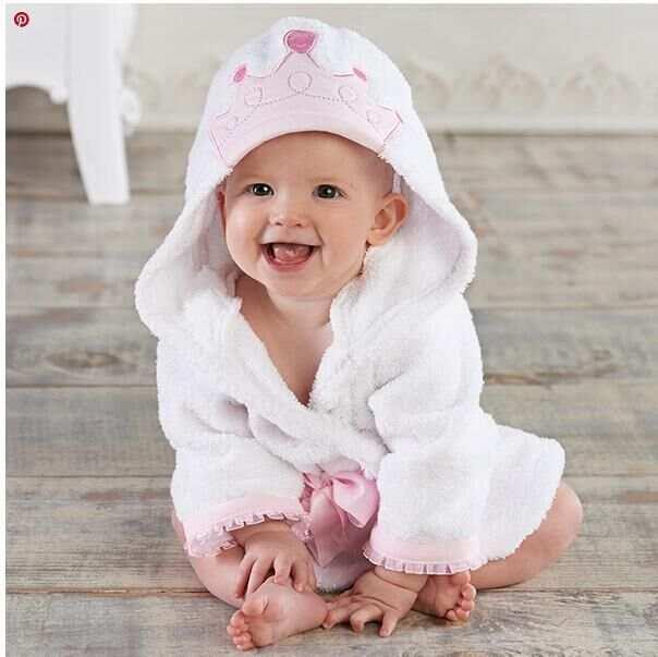 ce32ebe08d Super soft 100% cotton baby bathrobe animal character hooded baby bath robe  hooded kids bathrobes