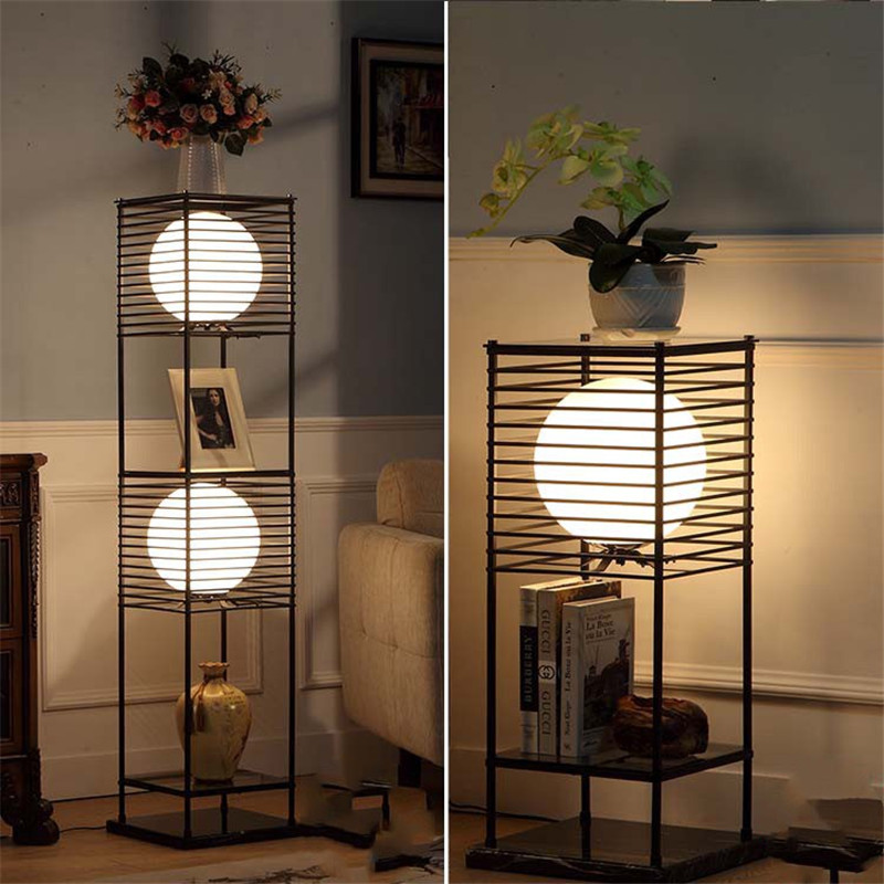 Lights & Lighting Lamps & Shades Trend Mark Simple Modern Chinese Floor Lamp Living Room Bedroom Study Office American Retro Iron Floor Lamp Free Shipping Lovely Luster