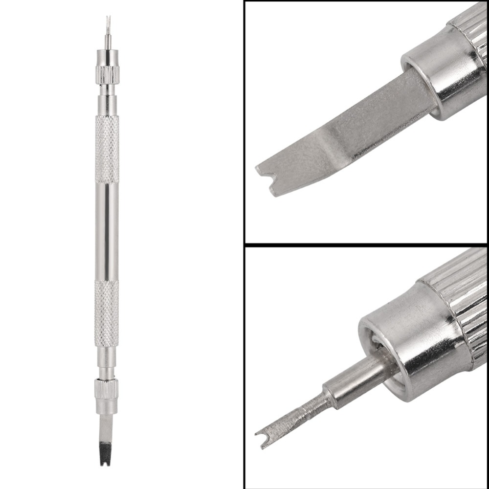 Repair Tools Metal Silver Bracelet Multifunctional Watch Band Opener Strap Replace Spring Bar Connecting Pin Remover Tool Opener