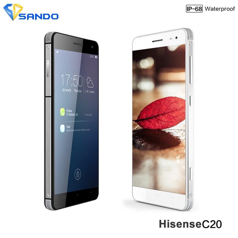 Цена за 2016 новый ультратонкий hisense c20 прочный телефон ip67 c20 kingkong ii FDD_LTE CDMA Окта основные 2 ГБ 16 ГБ 13.0MP 3200 мАч 5.0 дюймов IPS HD