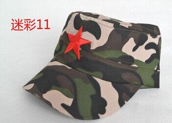50 шт./партия Federal Express быстро в китайском стиле для женщин Мужская хлопковая Маскировочная шапка Регулируемая Повседневная бейсбольная кепка мягкая шапка - Цвет: 11