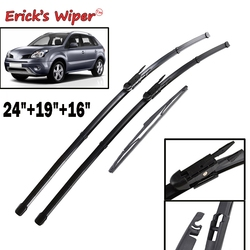 Erick's Wiper Front & Rear Wiper Blades Set For Renault Koleos MK1 2008 - 2015 Windshield Windscreen Window 24