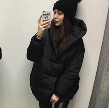 Ukraine Rushed Limited Cotton Long Solid Single Breasted Wide-waisted 2016 Women Winter Coats Fashion Coat Thick Warm Woman