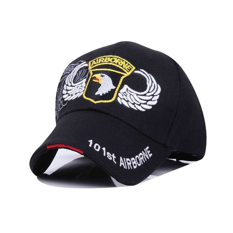 2019 New 101 Airborne Division Baseball Cap 100%cotton Snapback Caps Outdoor Leisure Hip Hop Hat Adjustable Men Women Dad Hats
