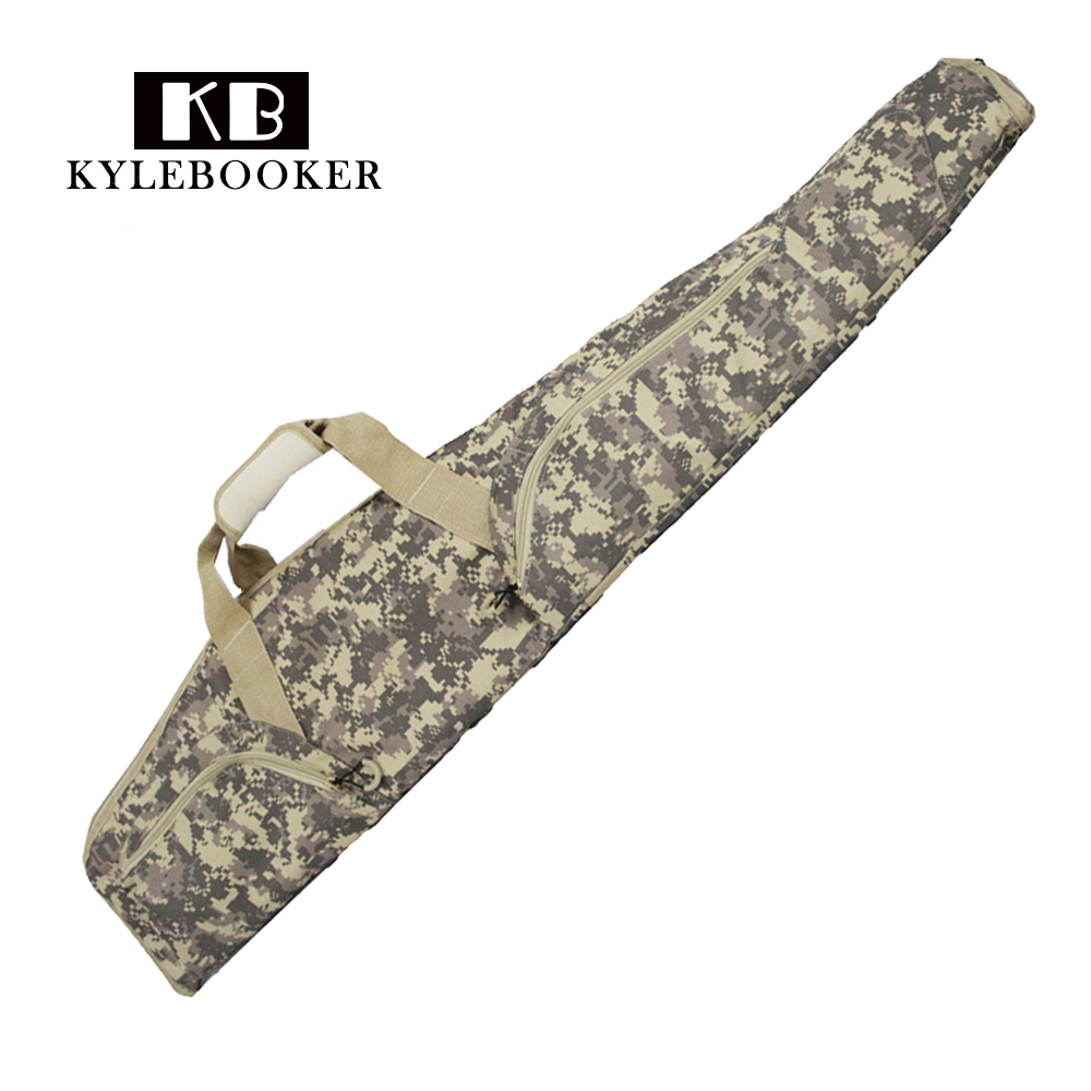 цена на 48Rifle Gun Case Holsters ACU Camo Outdoor Airsoft Paintball Tactical Hunting Military Gun Bag with Shoulder Strap