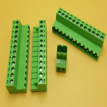 pcb terminal block screw KF2EDGK 5.08mm 2P-12P 10set/lot free shipping
