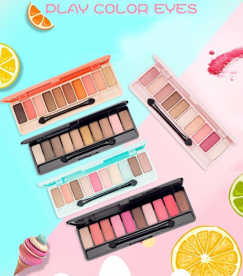 10 Colors Fashion palette Matte Eye shadow