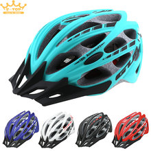 GUB Cycling 57-61cm 30 Air Vents Integrally-molded Ultralight Bicycle Helmet with Tail Reflective Tape