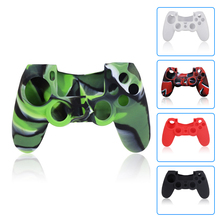 New Version Silicone Case for Sony PS 4 for PlayStation 4 PS4 Pro Slim Console Skin Cover with Controller Grip Caps стоимость
