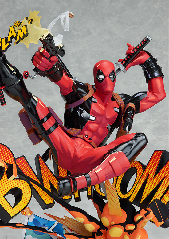 New X-men Marvel Deadpool Breaking The Fourth Wall Blam Complete Figure Model Toy 23cm marvel platinum the definitive x men reloaded
