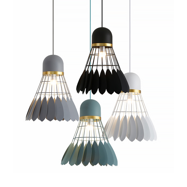 Suspension Luminaire : Volant de Badminton 2
