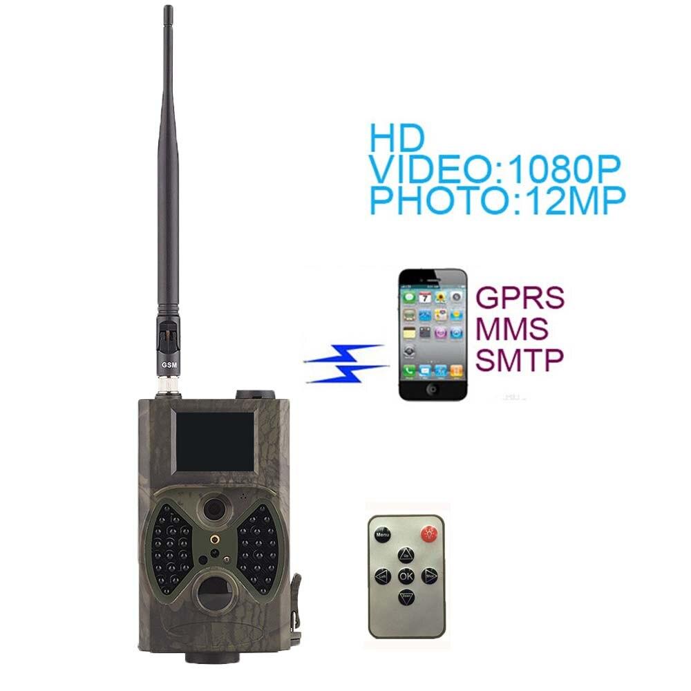 Suntek HC300M caméra sauvage 940nm Vision nocturne Full HD 1080 P MMS GPRS chasse jeu caméra de piste