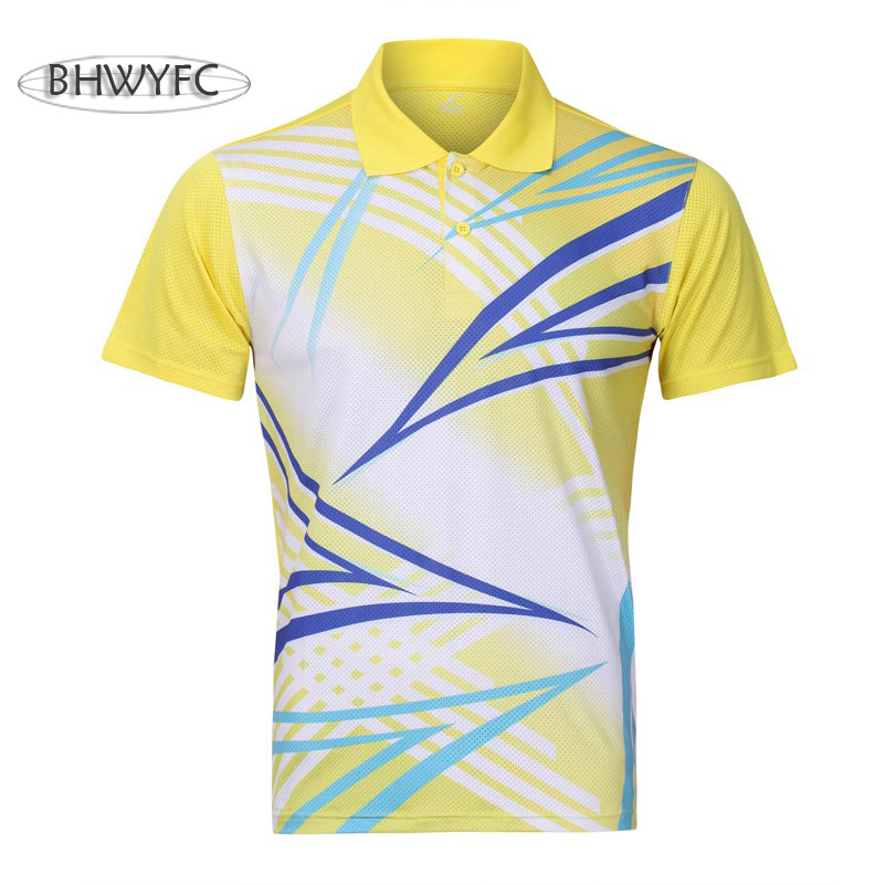 BHWYFC Men/Women Table Tennis Shirt Badminton Shirt Men Quick Dry Apparel Sportswear Table Tennis Clothes(China)