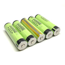 6pcs/lot New Original Protected Panasonic 18650 NCR18650B Rechargeable Battery 3.6V 3400mAh Li-Ion Batteries with PCB