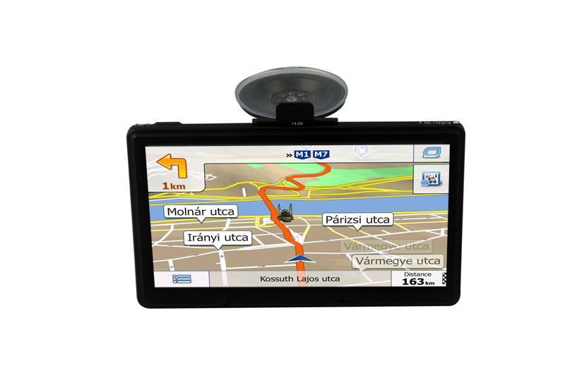 Beling SX01 7 inch Touch Screen Car GPS Navigation Win CE 6.0 Vehicle Sat Nav FM HD 8GB MP3 MP4 Player Truck GPS Navigator 5 resistive screen win ce 6 0 car gps navigator w tf fm mic black 128gb multinational