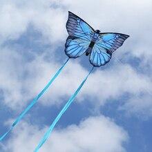 Креативный воздушный змей в виде бабочки с хвостом 3 м, спортивные игрушки для улицы, воздушный змей в виде животных, летающие воздушные змеи с воздушным змеем, детский подарок