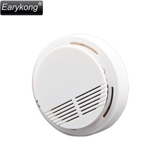 Free Shipping Hot Selling Wireless Smoke Detector Fire Alarm Sensor for Indoor Home Safety Garden Security