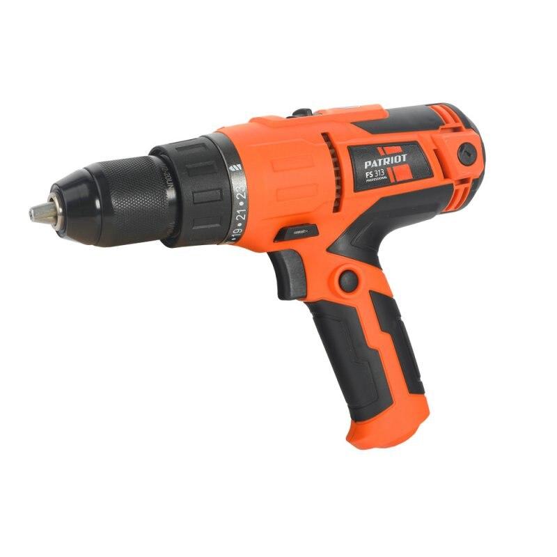 где купить Drill electric screwdriver electric PATRIOT FS 313 (Power 300 W, 2 speed, torque 35 Nm) по лучшей цене