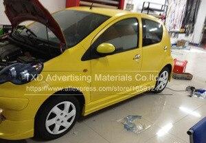 Image 3 - Pegatina mate Premium para carrocería de coche, Pegatina autoadhesiva para envolver, lámina de vinilo, película de envoltura de coche de vinilo mate