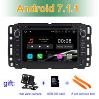 2GB RAM Android 7 1 Car DVD Player Radio GPS For Chevrolet Express Van Traverse Impala