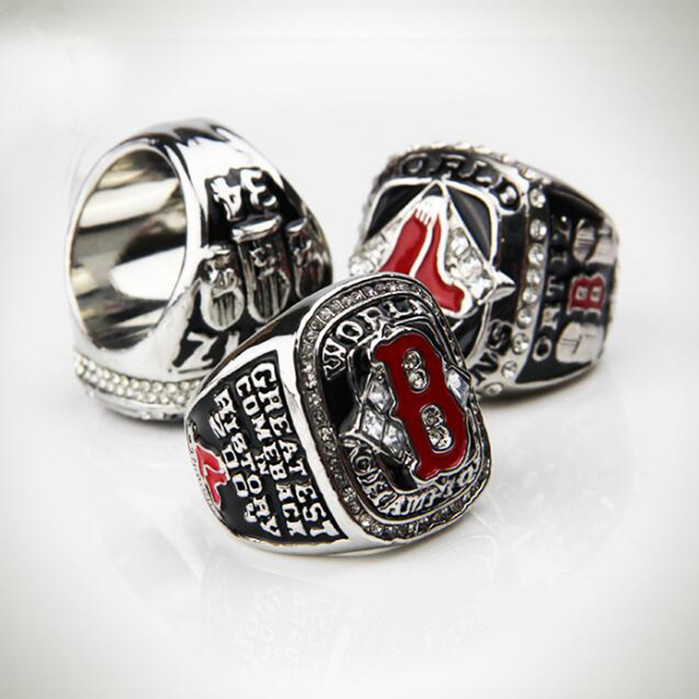 3PCS 2004 2007 2013 BOSTON RED SOX CHAMPIONSHIP RING SET o ring for eheim 2213 and 2013 canister filters red