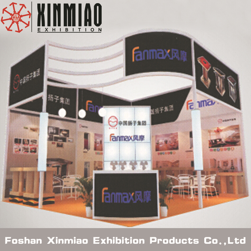 Exhibition Booth Shell Scheme : Aluminum portable modular shell scheme exhibition booth