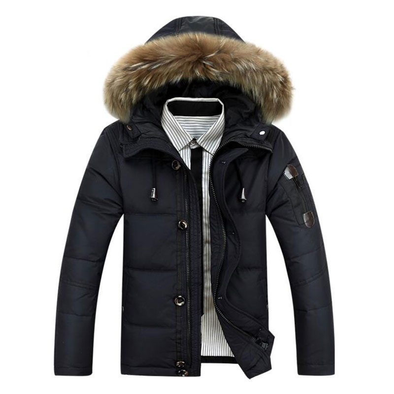 Aliexpress.com : Buy 2017 Hot Sale Men Hooded Down Jacket Coat ...