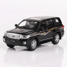 Ant 1:32 luxury cool car Jiaye Rand Cool Road Ze Toyota Land Cruiser alloy model 4 open door childrens toys