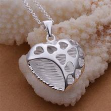 Retail & Wholesale high quality cheap Hollow Hearts Pendants Necklace Jewelry Fashion