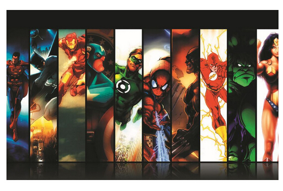 Dc Comics Wall Art popular dc and marvel posters-buy cheap dc and marvel posters lots