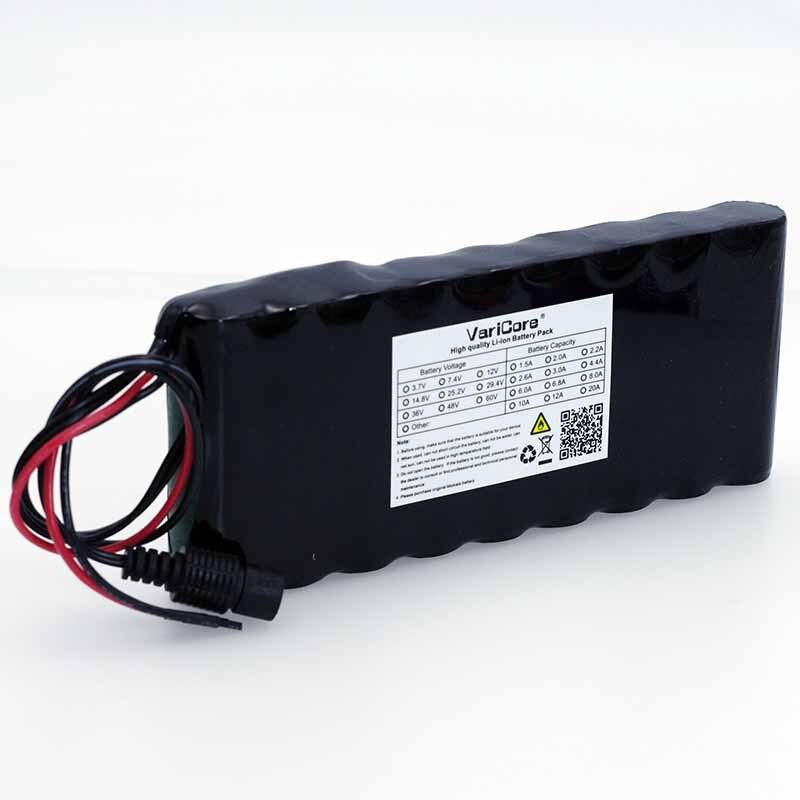 VariCore 12 V 9.8Ah 9800 mAh 18650 la batería recargable de 12 V Placa de protección CCTV Monitor de batería