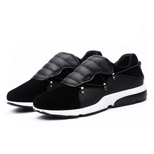 Free Shipping Men Shoes Fashion Spring Comfortable Sport Men Casual Shoes Artificial Suede Male Outdoor Student Shoes Size 39-44