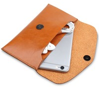 Microfiber Leather Sleeve Pouch Bag Phone Case Cover For Xiaomi Mi Note 3 Redmi Note 5