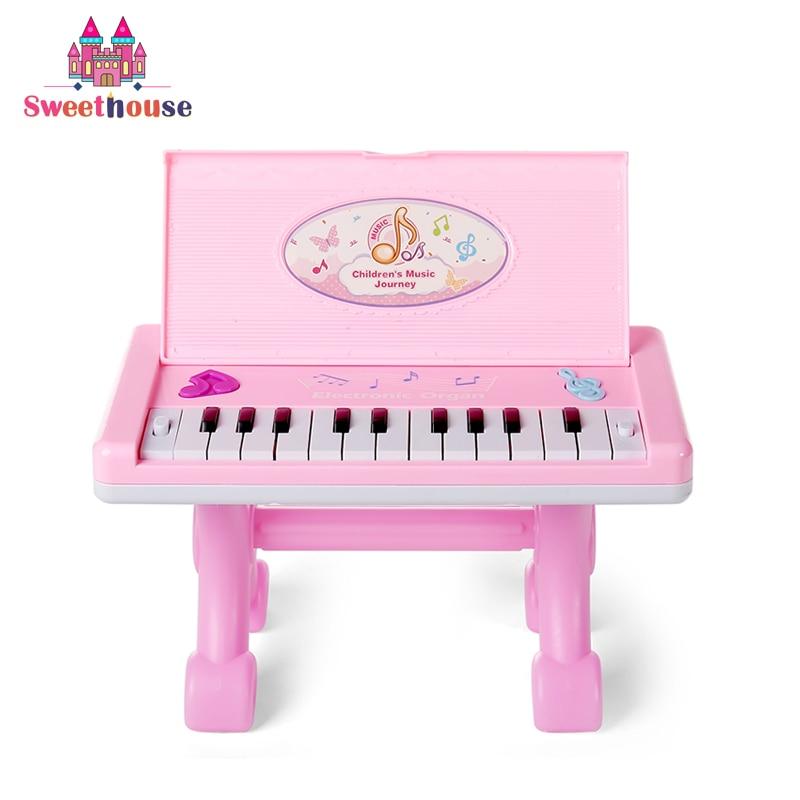 22 Teclas Piano Electrónico Juguetes para Bebés Teclado Instrumento - Educación y entrenamiento - foto 1