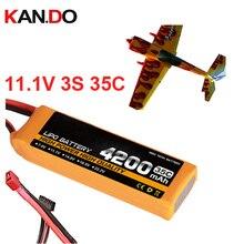 3 s 35c 11.1 v 4200 mah aeromodeling bateria modelo de avião aeronaves modelo de bateria de lítio bateria de polímero de li-polímero bateria zangão