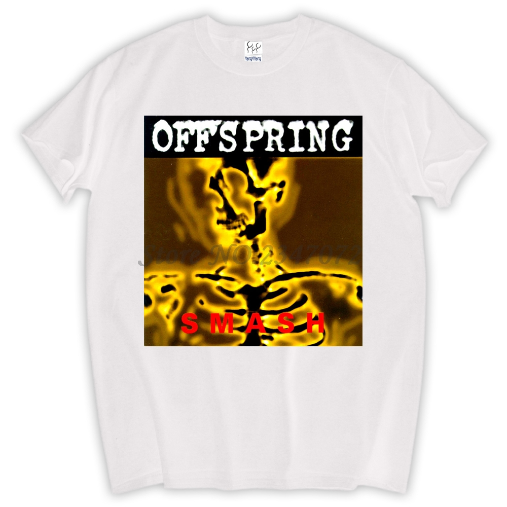 T-shirts Tops & Tees The Offspring Smash Tour 2014 Punk Rock Bad Religion Pennywise New Black T-shirt
