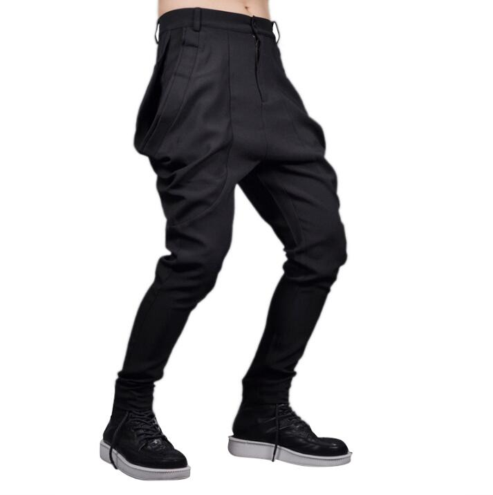 Clothing Harem-Pants Pocket Slim Korean Men Men's Plus-Size Fashion New Big Hair-Stylist