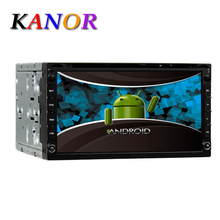 Kanor AUTORADIO Quad Core 1Ghz 7INCH Android 5 1 CAR DVD player GPS Stereo Car Audio