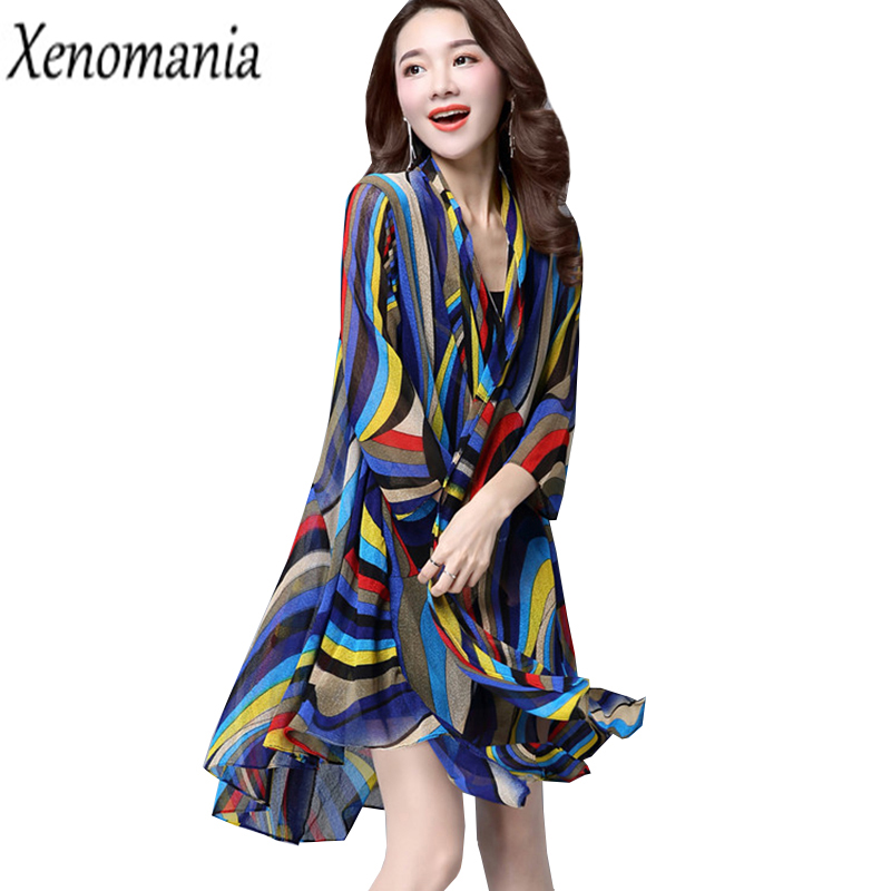 Kimono Cardigan Feminino Chiffon Blouse Shirt 2017 Blusa Feminina Women Tops Blusas Plus Size 5XL 4XL Cheap Clothes China Floral