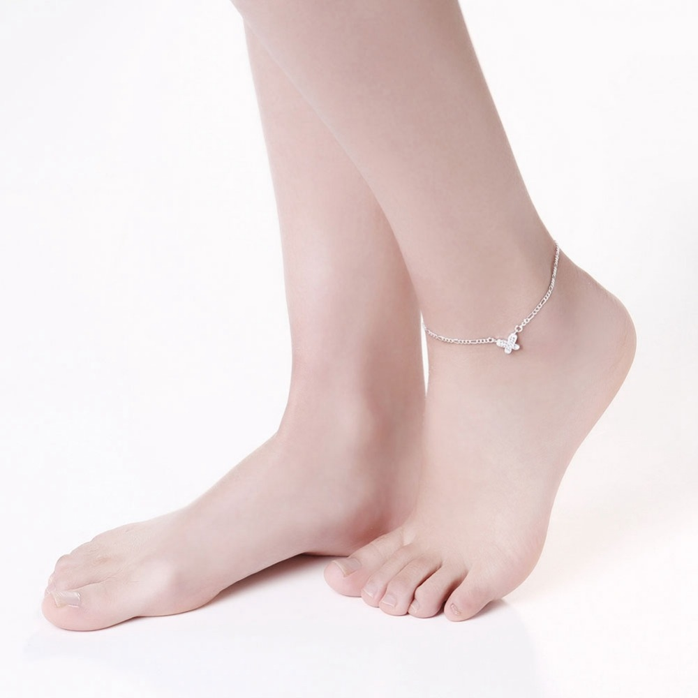 designer new in fashion accessories foot butterfly leg beach anklets on the bracelet ankle bracelets from love anklet girl chain item jewelry women