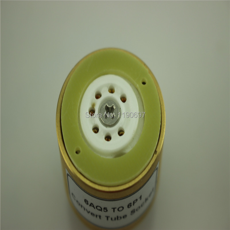 1pc 6AQ5 TO 6V6 Tube adapter