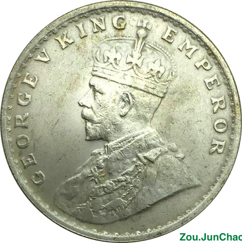 India Coins George V King Emperor One Rupee 1917 Brass Silver Pated Copy Coin Can Custom Big Amounts And Different Year