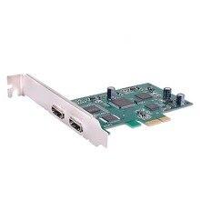PCI Express HD видео карты захвата PCIe 1080 P 60 HDMI карты захвата vmix wirecast obs игры/встреча live трансляции потоковой
